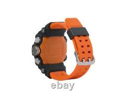 Montre G-shock Casio Ggb100-1a9 Orange Mudmaster Carbon Core Guard