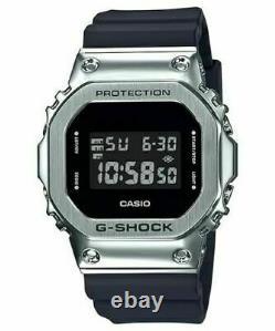 Montre Numérique De Boîtier En Acier Inoxydable Casio Pour Homme G-shock Gm5600-1