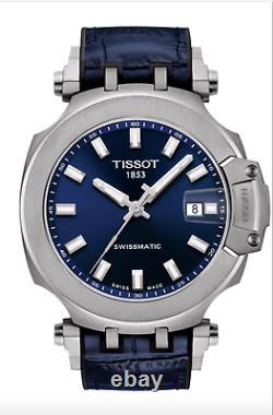 Montres Tissot T-race Suissematic Bleu T1154071704100