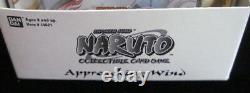 Naruto Approaching Wind Tcg Blister Booster Pack Box 15 Packs 10 Cartes/pack
