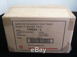 Naruto Approaching Wind Tcg Gcc Booster Case 6 Boîtes 24 Pièces Par Boîte