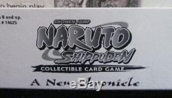 Naruto Une Nouvelle Chronique Tcg Blister Booster Packs Case 10 Boîtes 15 Packs / Box