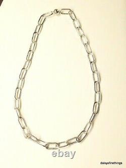Newithtags Authentique Pandora Silver Me Link Collier #399001c00 Hinge Box