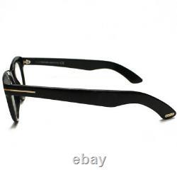 Nib Tom Ford Tf 5378 001 Lunettes Noires Authentique Rx Frames Box Case