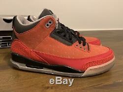 Nike Air Jordan Retro 3 Doernbecher Taille 10 Ds Nouveau 100% Authentique Avec Boîte