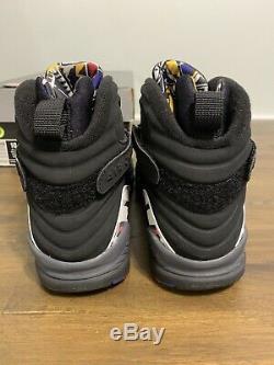 Nike Air Jordan Retro 8 Taille 10 2007 Playoff Ds Nouveau 100% Authentique Avec Boîte