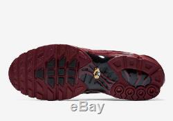 Nike Air Max Plus Tn Og 100% Rouge Équipe Authentique 852630-602 Chaussures Hommes Non Boîte Ds