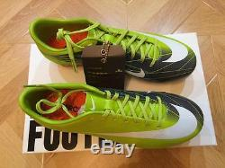 Nike Mercurial Vapor Superfly II Fg Brand New + Box, Taille Authentique 8 Us