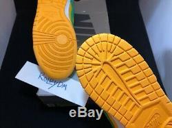Nike Sb Dunk Low Bucks Taille 12 Ds Nouveau En Box 2004 100% Authentique
