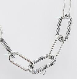 Nouveau 100% Authentique Pandora Me 925 Silver Link Collier Dw Bracelet 399001c00