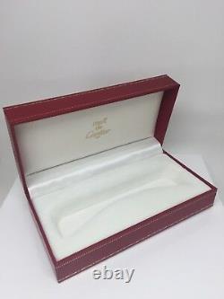Nouveau Authentic Cartier Case Lunettes De Vue En Boîte Rouge Lunettes De Soleil Doit De Cartier Box