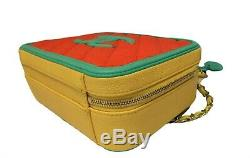 Nouveau Authentique Chanel Multicolor Mini Vanity Case Filigrane Bag Box