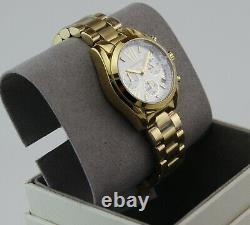 Nouveau Authentique Michael Kors Mini Bradshaw Or Chronographe Femme Mk6267 Montre