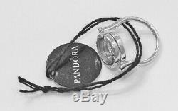 Nouveau Authentique Pandora Floating Médaillon Bague Avec Petite Coeur 197251 Box Hinged