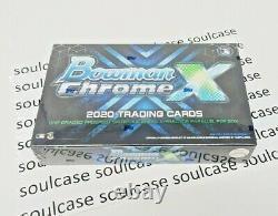 Nouveau Bowman Chrome X Box 2020 One Psa Graded Prospect Or Rookie Per Box
