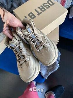 Nouveau Dans La Boîte Adidas Yeezy Desert Boot Rock Dsrt Hommes Bt Taille 6.5 Authentique Rare