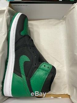 Nouveau Dans La Boîte Air Jordan 1 Retro Haute Og Taille Green Pine 11 100% Authentique Dans La Main