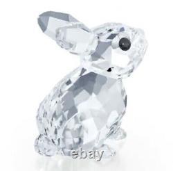 Nouveau Dans La Boîte Authentique Swarovski Baby Rabbit Bunny Cristal Clair Figurine #5135942