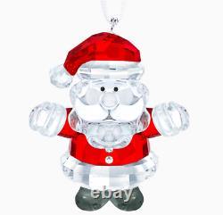 Nouveau Dans La Boîte Authentique Swarovski Noël Père Noël Ornement #5286070