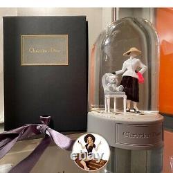 Nouveau! Dior Lady Holiday Snow Globe + Box Harrods Londres