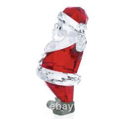 Nouveau In Box Authentique Swarovski Crystal Christmas Figurine Santa Claus #5291584