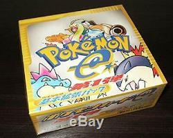 Nouveau Jeu Pokemon Base E-card Booster Box 1st Edition Authentique Japon Sealed
