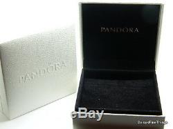 Nouveau! Pandora Charme Authentique Parfait Posies Avec Des Diamants # 790485d Boîte Hinged
