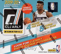 Nouveau Panini Clearly Donruss Basketball Hobby Box 2019/20