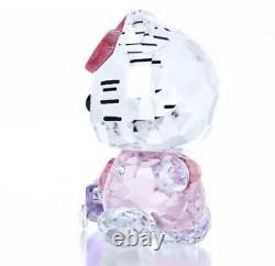 Nouveauté En Boîte Authentique Swarovski Cristal Hello Kitty Traveler Figurine #5279082