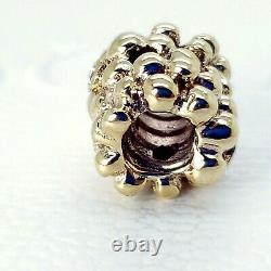 Nouvelle Authentique Pandora 14k Gold Diamond Daisy Flower Charm 750344d Pouch & Box