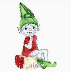 Nouvelle Figurine Santas Elf 100% Authentic Swarovski 2018 Christmas Santas #5402746