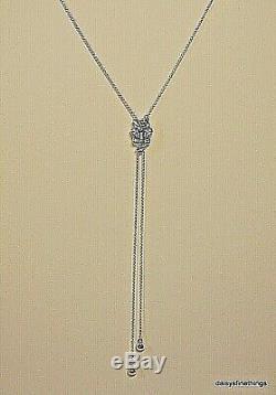 Nwt Authentique Pandora Collier Éblouissant Et La Danse Des Papillons # 397911cz-80 Box