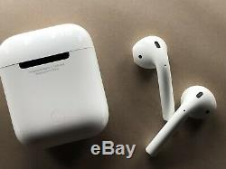 Ouvert Box Authentique D'apple Airpod 2 Gen Wired Cas D'apple Garantie