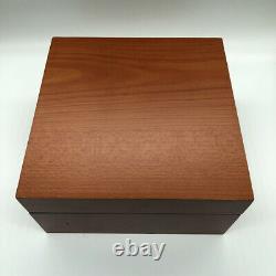 Panerai Luminor Watch Box Holz Coffre De Luxe Bijoux Braun Schwarz 100% Authentique