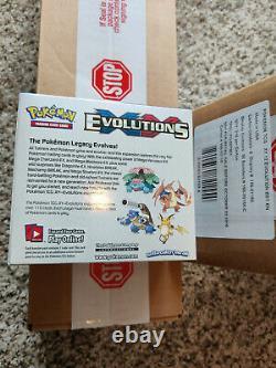 Pokemon Xy Evolutions Booster Box Tcg 36 Pack De Boîte Scellée Authentique