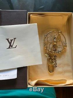Porte-clés Authentiques Louis Vuitton Sac Charme Avec Boîte