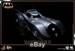 Prêt Authentique Hot Toys DC Comics 1989 Classique Batmobile 39 No Box New Mms170
