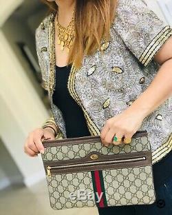 Sac Gucci Ophidia D'embrayage Et De Boîte Grand Nwt Authentique Signé