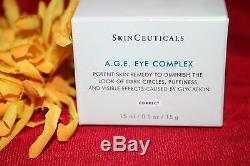 Skinceuticals A. G. E. Âge Eye Cream Complexe Full Size. 5 Oz Authentique Boîte Scellée