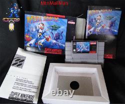 Snes Megaman X Super Nintendo Cib Complete Authentic Cart, Manuel, Dust, New Box