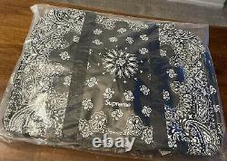 Superior Bandana Tarp Large Duffle Bag Black 0s, Ss21 Semaine 8 (in Hand) Authentique