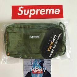 Suprême Es19 Organisateur Sac Pochette Authentique! Box Logo Epaule Tnf Waist Backpack