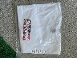 Supreme Murakami Relief Box Logo Taille Moyenne Jamais Porté 100% Authentique Lire Bio