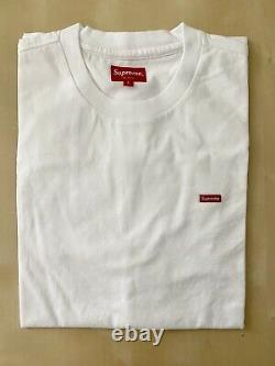 Suprême Petite Boîte Logo T T-shirt Taille Grand 100% Authentique (sac En)