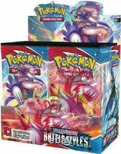 Swsh Battle Styles Seled Booster Box (36 Paquets De Cartes De Pokémon Authentique)