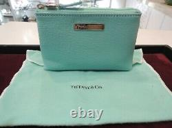 Tiffany & Co Maquillage Cosmétique Sac En Cuir Nouveau Avec Box & Authentic