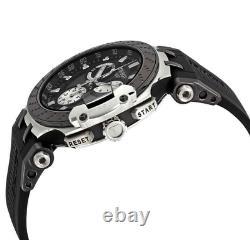 Tissot Authentique T-race Chronographe Quartz En Caoutchouc Noir Montre Hommes T1154172706100