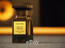 Tom Ford Tobacco Vanille50 Ml1.7 Ozeau De Parfumauthenticsealed Boxsale