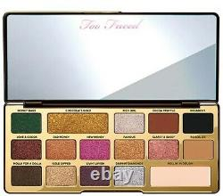 Too Faced Chocolate Gold Eye Shadow Palette 100% Authentique New No Box