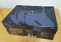 Tout Neuf Dans La Boîte 100% Authentique Prada Cloudbust Sport Knit Chaussures Prada Taille 7
